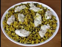 Арабский плов с рыбой Саядия - Рецепт Ирины Хлебниковой