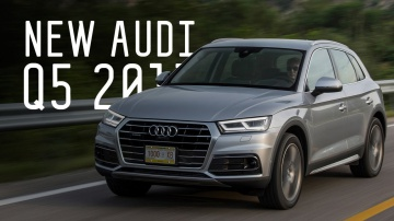 New Audi q5 2017/Ауди ку 5 2017/Большой Тест Драйв