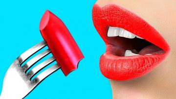 Трум Трум  Съедобная косметика | 12 пранков над друзьями