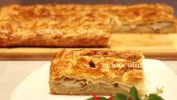 Картофельный пирог из слоеного теста - Рецепт Бабушки Эммы