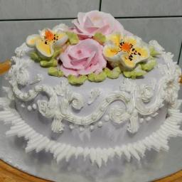 Мастер класс | Украшение тортов кремом | Sweet Beauty