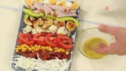 Горчичная заправка для кобб-салата от шеф-повара /   Обед безбрачия