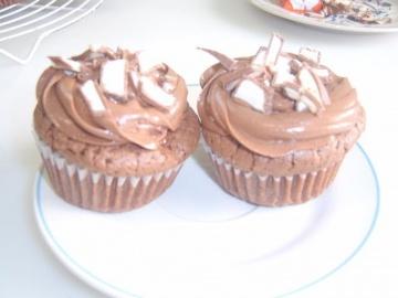 Маринкины Творинки Шоколадные кексы