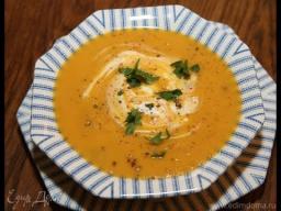 Юлия Высоцкая — Суп из сладкого картофеля