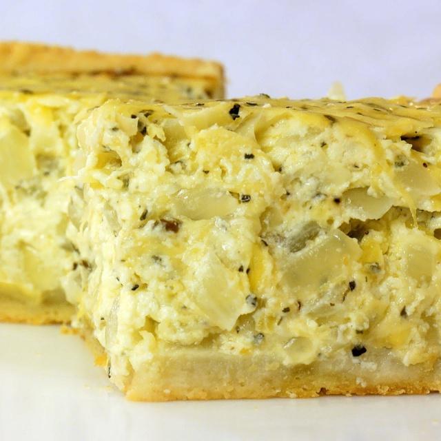 Луковый пирог | Видео рецепт Ирины Подолян