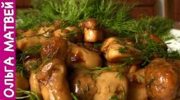 Ольга Матвей  -  Белые Грибы,  Вкусный Рецепт | Fried Mushrooms Recipe