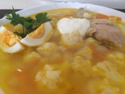 Суп с Цветной Капусты! Овощной Суп - Очень Вкусно!