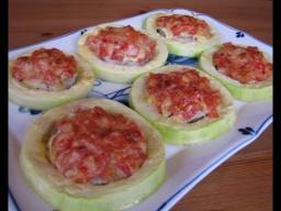 Ирина Хлебникова -  Кабачки с овощами и мясом | Рецепт