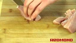 Суп гороховый в мультиварке REDMOND M4504. Рецепты для мультиварки Видео рецепт