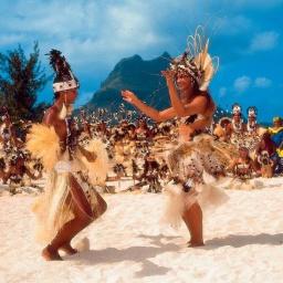 Остров Таити Французская Полинезия: Окунись в самую настоящую экзотику