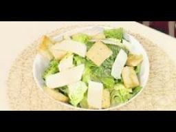 """Салат с сухариками и сыром - """"Цезарь"""" классический /  Мировой повар"""
