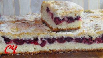 Светлана Чернова Немецкий Вишневый Пирог | Рецепт приготовления