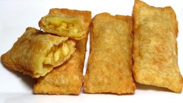 Позитивная Кухня Яблочный Пирожок как в Макдональдс  – очень просто и вкусно Bánh Táo Mcdonald [Luda