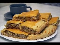 Дагестанский Пирог с Мясом | Капустный Салат