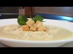 Суп-пюре из цветной капусты видео рецепт. Книга о вкусной и здоровой пище
