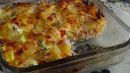 Рыба запеченная с овощами и сыром (Fish baked with vegetables and cheese ) | Рецепт Светланы Черново