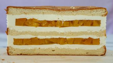 "Торт ""Персик""  - Я - ТОРТодел"