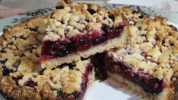 Пирог с ягодами рассыпчатый постный | Рецепт Светланы Черновой