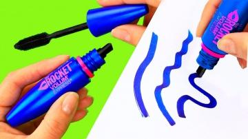 Трум Трум  Канцелярия в виде косметики своими руками — 10 идей