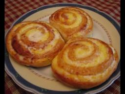 Творожные завитушки в сметанной заливке   Рецепт от Ирины Хлебниковой