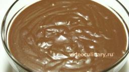 Шоколадный заварной крем - Рецепт Бабушки Эммы