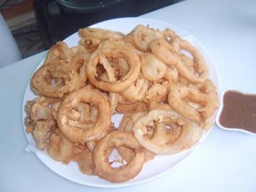 Луковые кольца в кляре | Рецепт Маринкины Творинки
