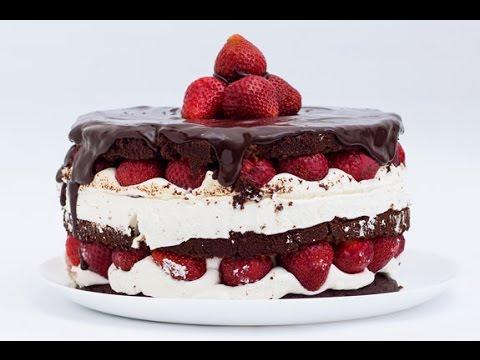 """Торт в домашних условиях - Рецепт """"голого"""" торта"""