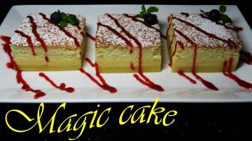 Позитивная Кухня ВОЛШЕБНЫЙ ПИРОГ Умный Вкусный пирог САМОРАЗДЕЛЯЮЩИЕСЯ СЛОИ рецепт / Magic 3 Layer C