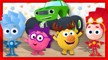 Мультики Лепим из пластилина Фиксики Смешарики Вспыш Учим цвета Пластилин для детей все серии