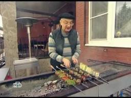Шашлык с овощами | Рецепт Сталика Ханкишиева
