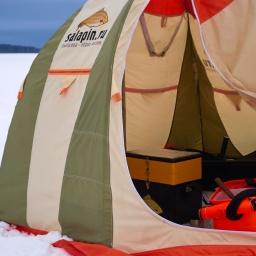 Крупный лещ на мормышку | Как расположиться в зимней палатке [salapinru]