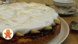 Пирог Сметанный  с яблоками | Рецепт Ирины Хлебниковой