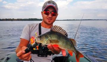 Ловля окуня на джиг / Рыбалка осенью