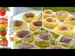 Алена Митрофанова -  Супер Быстрые Пирожки с Мясом / Закусочные пирожки за 5 минут