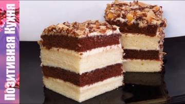 Позитивная Кухня Быстрый торт на сгущенке со сметанным кремом вкусно и просто