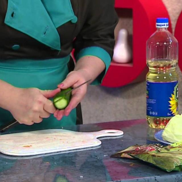 Солянка Овощная  на зиму с капустой