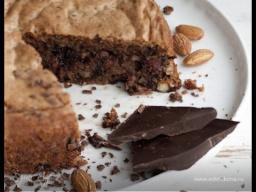 Юлия Высоцкая — Шоколадный торт «Два ореха»
