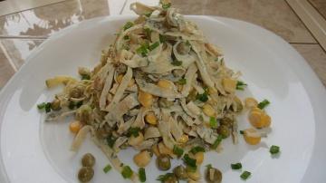 Уютный Уголок Вкусный салат за 7 минут Импровизируем
