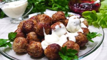 Калнина Наталья Ваши родные Вас зацелуют за эти невероятные по вкусу фрикадельки + 2 соуса