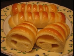 Ирина Хлебникова -  Закусочные булочки с плавленым сыром |Рецепт