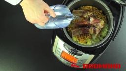 Гороховый суп в мультиварке REDMOND RMC-M4502 Видео рецепт