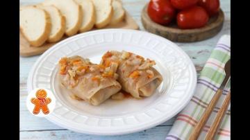Голубцы с Грибами и Рисом | Вегетарианский Постный Рецепт Ирины Хлебниковой