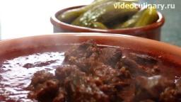 Гуляш по-австрийски - Рецепт Бабушки Эммы