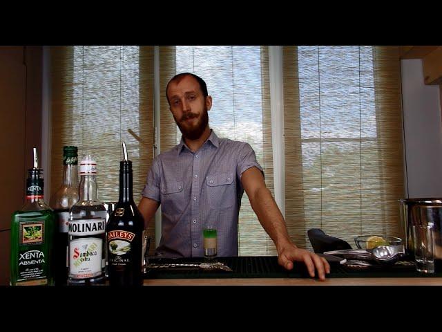 "Рецепт коктейля ""Хиросима"""