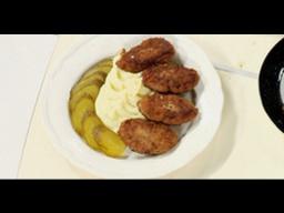 Котлеты с картофельным пюре рецепт от шеф-повара /   Обед безбрачия / русская кухня