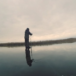 Зимняя ловля окуня на балансир и мормышку | Подводная съёмка