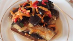 Вкусная закуска квашеные баклажаны по корейски рецепт