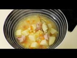 Гороховый суп от Ильи Лазерсона /  русская кухня