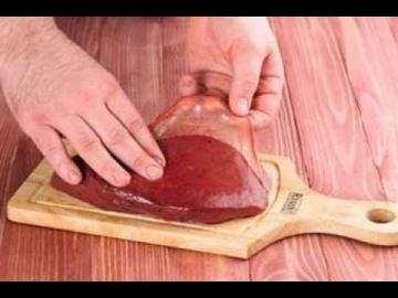 Как снять плёнку с печёнки мастер-класс от шеф-повара Лазерсона