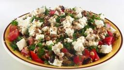 Вкусный летний салат из баклажанов / Легкий и без майонеза | VIKKAvideo